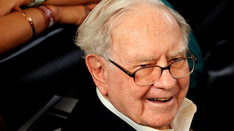 Berkshire Hathaway CEO Warren Buffett © Rick Wilking