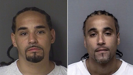 Ricky is pictured on the left, and Richard is pictured on the right © Kansas City Police Department