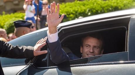 French President Emmanuel Macron © Christophe Petit Tesson