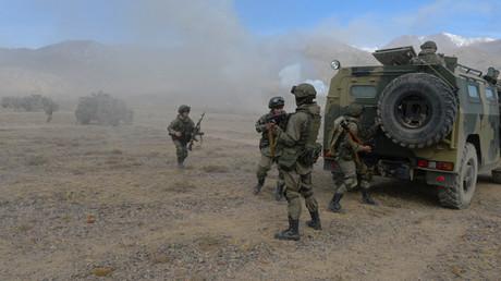 CSTO military exercise Rubezh-2016 © Mikhail Voskresenskiy