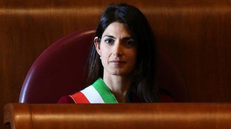 Rome's mayor Virginia Raggi © Alessandro Bianchi