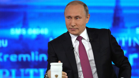 Putin talking: Russian president holds annual Q&A