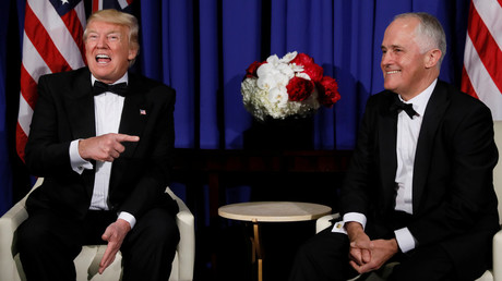 'The Donald & I are winning': Leak reveals Australian PM's roasting of Trump (AUDIO)