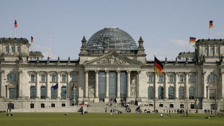 The Reichstag building, Berlin © Fabrizio Bensch / Reuters