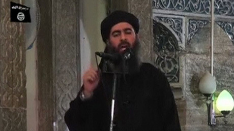 FILE PHOTO: Leader of the militant Islamic State Abu Bakr al-Baghdadi. © Reuters