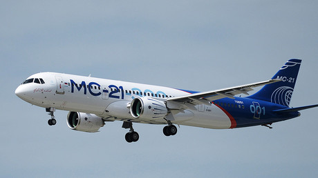 The Russian MC21 passenger jet ©