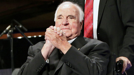 Former German Chancellor Helmut Kohl © David Gannon