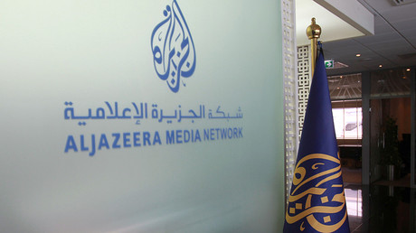 Al Jazeera's Arabic Twitter account was suspended on Saturday © Naseem Zeitoon