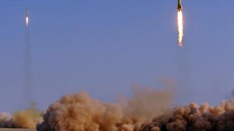 Iran fires missiles against 'terrorist bases' in E. Syria in retaliation for Tehran attacks (VIDEO)