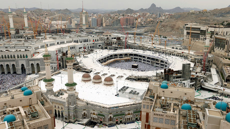 General view of Kaaba at the Grand mosque in Mecca © Ahmed Jadallah