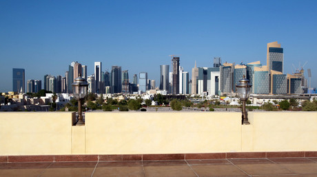 A view shows buildings in Doha, Qatar © Naseem Zeitoon