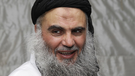 FILE PHOTO Radical Muslim cleric Abu Qatada © Majed Jaber