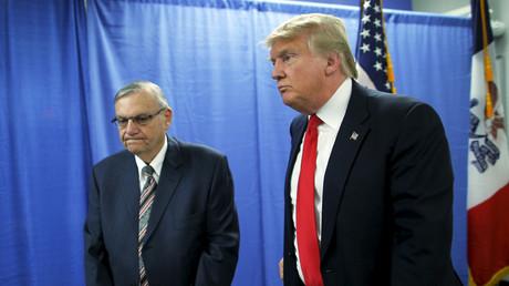 Arpaio enters Arizona Senate race, pledging support for Trump