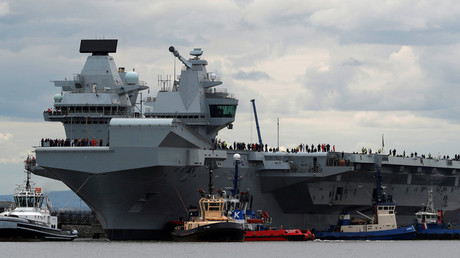 HMS Queen Elizabeth aircraft carrier runs on Windows XP, vulnerable to cyberattack