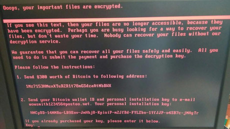 US blames Moscow for NotPetya malware, which hit Russia too