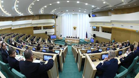 A Federation Council meeting. © Vladimir Fedorenko