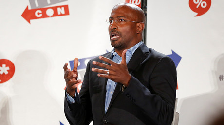 Political commentator Van Jones © Patrick T. Fallon
