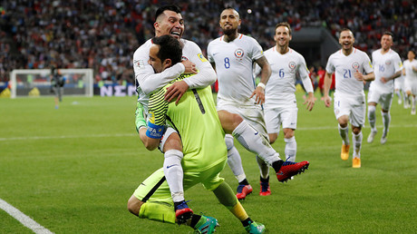 Bravo, Bravo! – Chile beats Portugal 3-0 on penalties to proceed to Confed Cup final