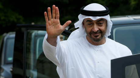 Abu Dhabi's Crown Prince Sheikh Mohammed bin Zayed al-Nahyan © Gonzalo Fuentes