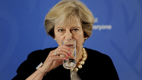 Hundreds come to 'Theresa May's leaving drinks' instead of expected 72,000