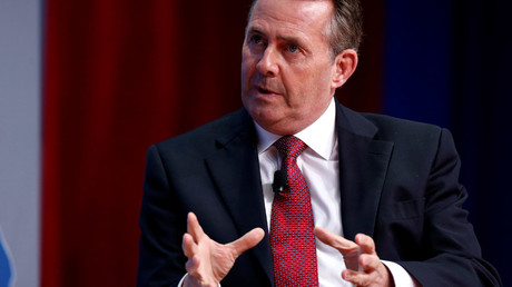 British Secretary of State for International Trade Liam Fox © Joshua Roberts