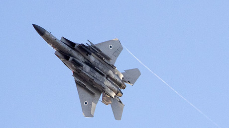 Israeli Air Force targets Syrian military positions in response to 'errant projectile'