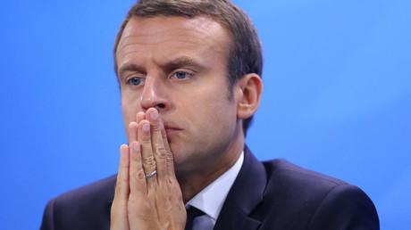 French President Emmanuel Macron © Hannibal Hanschke