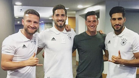 'We've loved our time in Russia!' – Germany Confed Cup captain Draxler