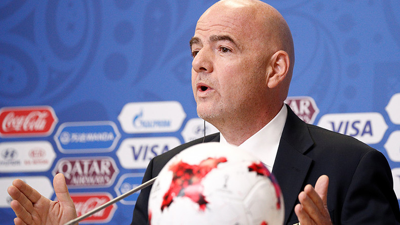 'All Russian World Cup 2014 doping tests negative' – FIFA head Infantino