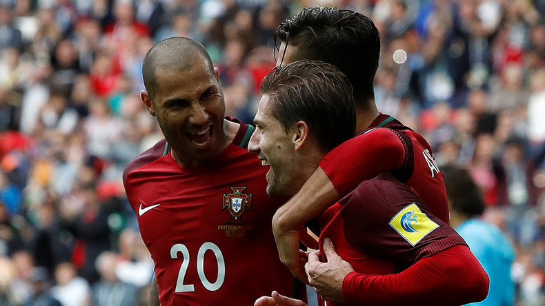 Portugal 2-1 Mexico: European champs claim Confed Cup third place in Moscow