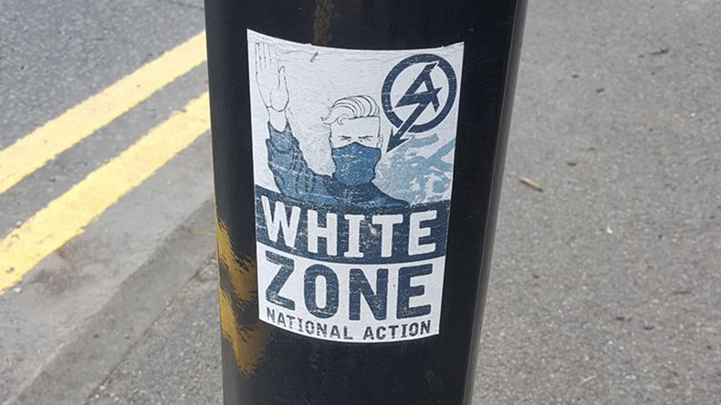 'White zone' far-right terrorist group poster spotted in west London