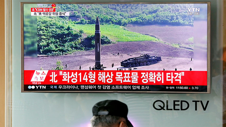 Missile launched by North Korea was intermediate range, not ICBM – Russian Defense Ministry