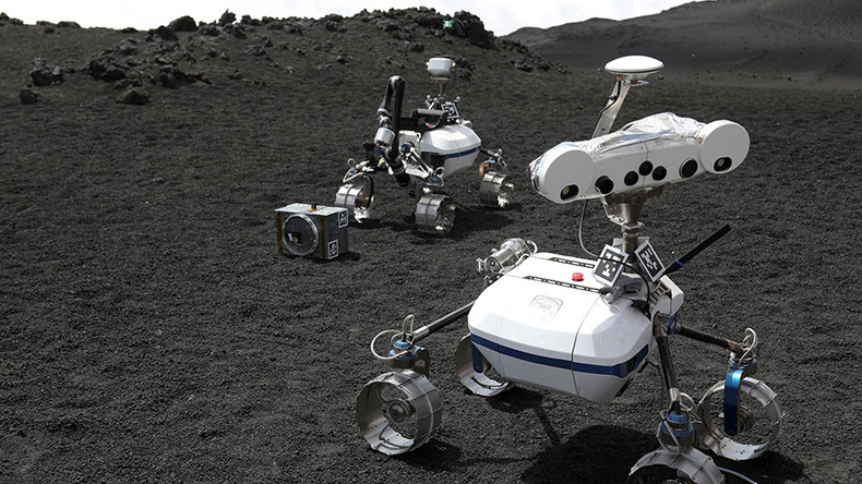 Lunar robots deployed to Mount Etna to prepare for future landings on Mars, moon