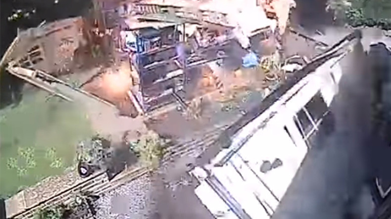 Pyrotechnic PSA: Fire & Rescue services share dramatic shed explosion footage (VIDEO)
