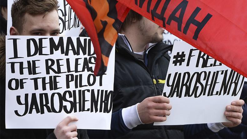 Jailed pilot Yaroshenko asks US President Trump to send him to Russia