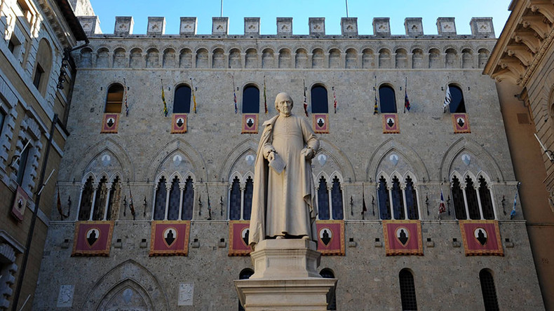 Italy's Monte dei Paschi bank lays out rescue plan