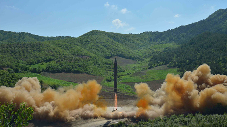 North Korean missile new type, launched from new location - Pentagon