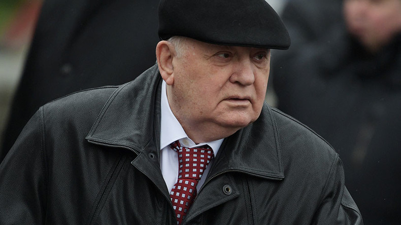 Gorbachev: World tired of tension, needs dialogue between Russia and US