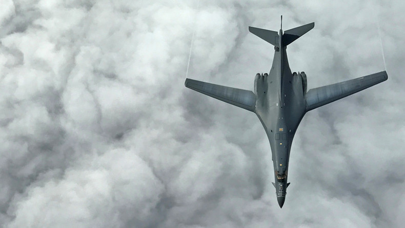 'Resolutely opposed': China fumes after US supersonic bombers fly over disputed S. China Sea