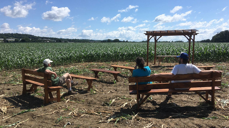 Nun too pleased: Sisters build outdoor chapel in protest at Pennsylvania pipeline route