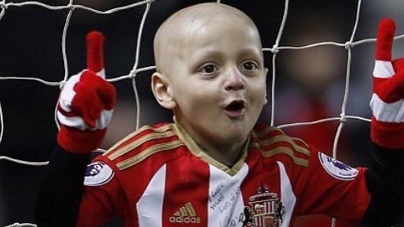 Brave football fan Bradley Lowery dies aged 6