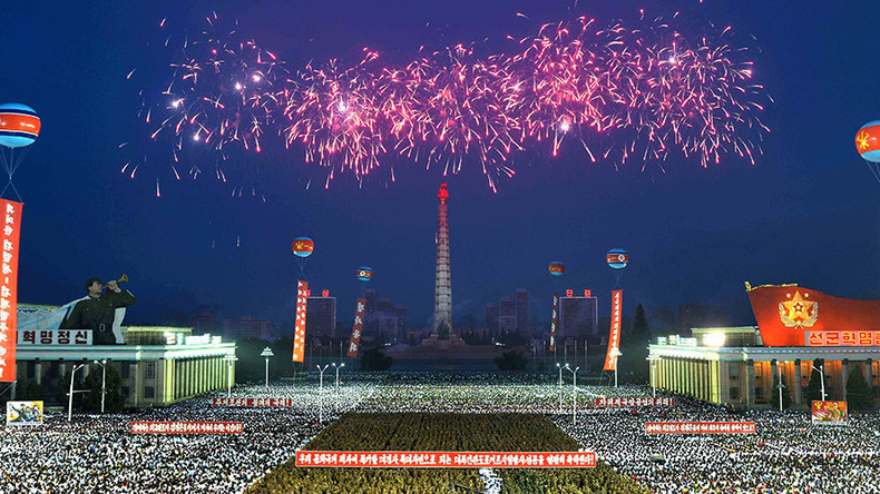 'Will reduce US to ashes': N.Korea celebrates first ICBM launch with dance & fireworks (VIDEOS)