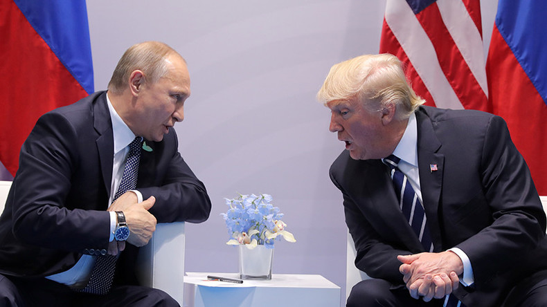 Putin-Trump in deja vu 'House of Cards' moment at G20 Summit (PHOTOS)