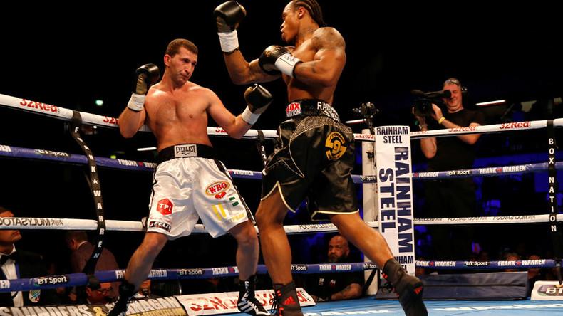 Mass brawl breaks out amongst crowd at UK boxing match (VIDEO)