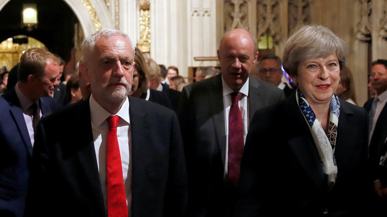 May now wants Corbyn's Labour to help her govern Britain