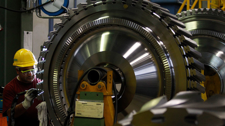 Siemens sues Russian partner over delivery of turbines to Crimea