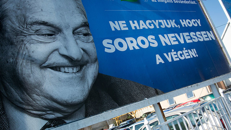 Israel backs Hungary's anti-Soros campaign, saying financier 'continually undermines Jewish State'