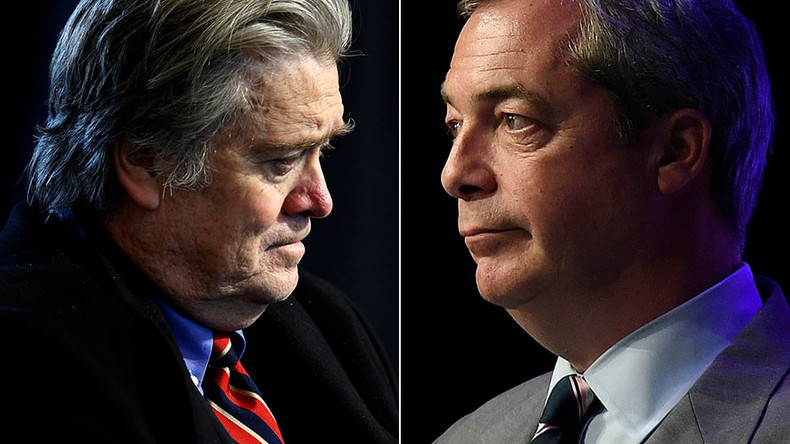 Trump adviser Bannon has portrait of himself dressed as Napoleon, gifted by Nigel Farage