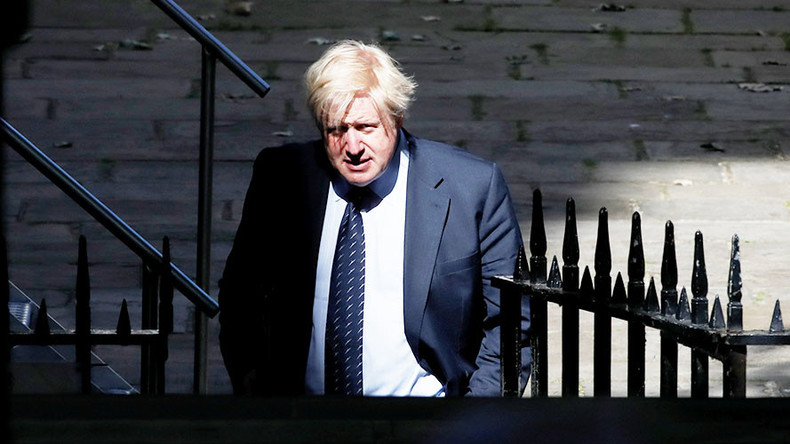 Boris Johnson tells EU to 'go whistle' over €100bn Brexit divorce demand (VIDEO)