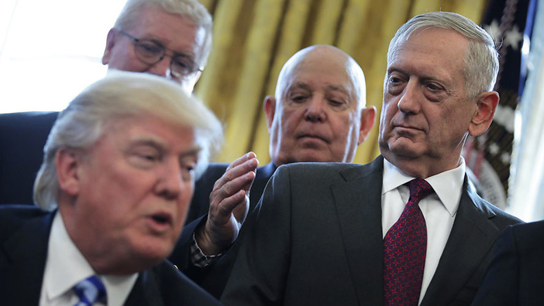 While Trump talks, the Pentagon balks